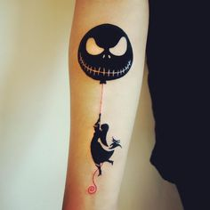 """It's plain as anyone could see, we're simply meant to be."" —Tim Burton tattoo to you"
