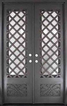 Resultado de imagen para puertas en herreria artistica