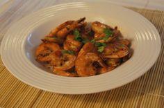 Chili de Camaron, receta saludable