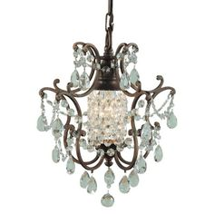 Murray Feiss Maison De Ville Chandelier from the Cottage Chic event at Joss and Main!    For the future bathroom... ;-)