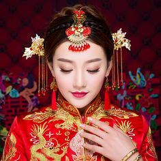 Giá rẻ Trung quốc Truyền Thống Cô Dâu Handmade Trang Phục Màu Vàng Bridal Phụ Kiện Tóc Cưới Engagement Tóc Gậy Hoa Tai Tua, Mua Chất lượng Tóc Đồ Trang Sức trực tiếp từ Trung Quốc nhà cung cấp: Trung quốc Truyền Thống Cô Dâu Handmade Trang Phục Màu Vàng Bridal Phụ Kiện Tóc Cưới Engagement Tóc Gậy Hoa Tai Tua