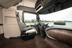 Mercedes-Benz Future Truck 2025 Concept Interior