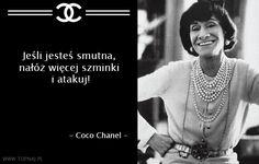 TOP 10 najsłynniejszych cytatów Coco Chanel | Ciekawostki Ze Świata, Fakty, Wiedza Monday Inspirational Quotes, Motivational Quotes, Coco Chanel, Beach Quotes, More Words, Fashion Quotes, Design Quotes, Monday Motivation, Quotations