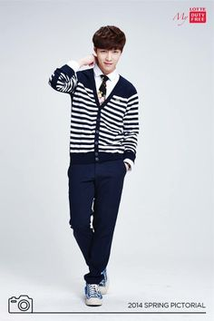 Lotte Duty Free Facebook Update: Lay (cr: Lotte Duty Free (롯데면세점)