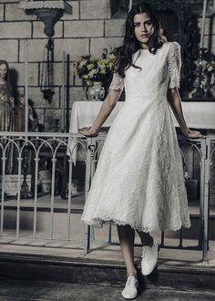 La collection de robe de mariée 2017 de Laure de Sagazan