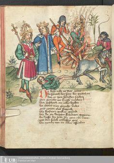 252 [124v] - Ms. germ. qu. 12 - Die sieben weisen Meister - Page - Mittelalterliche Handschriften - Digitale Sammlungen Frankfurt 1471
