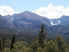 Bierstadt Lake Trail Views- we've hiked up here so many times. AmaZing!