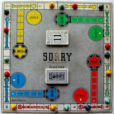 Sorry - so much fun playing this game with my Grandma.  Have also played many times with my own kids