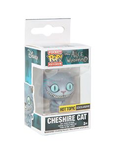 Funko Disney Alice In Wonderland Pocket Pop! Cheshire Cat Key Chain (to go with my Mad Hatter Keychain Pop!) - $5.20