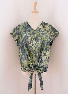 リボンブラウス | コッカファブリック・ドットコム|布から始まる楽しい暮らし|kokka-fabric.com