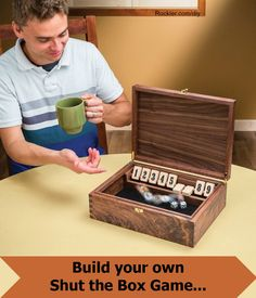 Show off our skills and whip up some family fun by making this classic game. Free woodworking plans! Rockler.com/diy