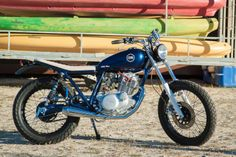 "Yamaha SR 250 ""Little Blue"" by C59R"