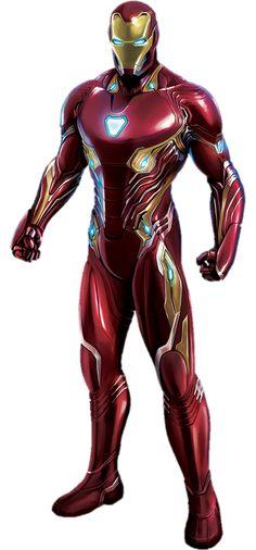 Iron-Man Avengers Infinity War PNG by gasa979