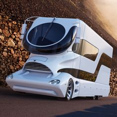 The luxury motorhome in this photo gallery is for sale in Dubai with a $3 million price tag and includes a rainfall shower, full kitchen, barbecue area and more.