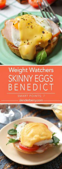Weight Watchers Skinny Eggs Benedict Recipe - 7 Smart Points