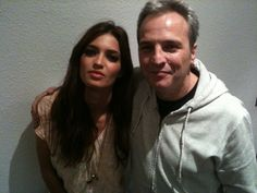 Con Sara Carbonero...guapa!!!