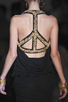 Peace... got your back... Tasli Elbise Modelleri