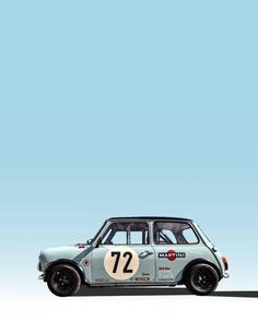 Classic Cars Poster Mini Coopers Ideas For 2019 Mini Cooper Classic, Mini Cooper S, Classic Mini, Retro Cars, Vintage Cars, Mini Morris, Mini 14, Bmw Classic Cars, Mini Clubman