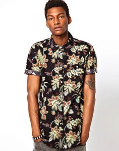 Altamont Shirt Reynolds Short Sleeve Floral Print