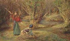 British Paintings: Edgar Barclay - The faggott gatherers