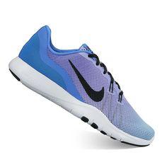 Nike Flex Trainer 7 Fade Women's Cross Training Shoes, Size: 8.5, Blue