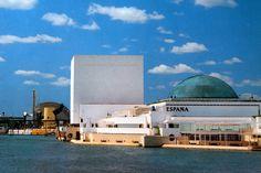 Pabellón de España. Expo 92 Pavilion, Opera House, Cities, Spanish, World, Building, Travel, Sevilla, World's Fair