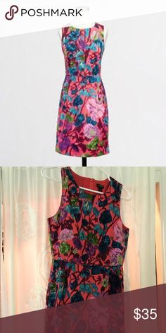 Jcrew watercolor dress So lovely! And has pockets!! J. Crew Dresses Mini