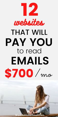 Did you know you can make money online just by reading emails? Sure! Here are 12 legitimate ways to get paid to read emails. Make Money Today, Ways To Earn Money, Earn Money From Home, Make Money Blogging, Way To Make Money, Money Making Websites, Easy Money Online, Online Jobs From Home, Online Side Jobs