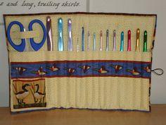 Crochet hook case by ~Lass-Samantha on deviantART