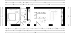 LIVING S50 – 50,20 m²  In diesem Singlehaus lässt es sich auf 50m² auch dauerhaft gut als Paar wohnen. Ohne viel Aufwand kann der Grundriss so verändert werden, dass noch ein weiterer kleiner Raum als Gästezimmer, Abstellraum oder Arbeitszimmer integriert werden kann. Selbst ein großes Modulhaus kann nach Lieferung innerhalb weniger Stunden bezogen werden. | mycubig