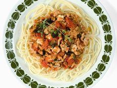 Enkel hjemmelaget tomatsaus