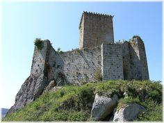 Castillo de Andrade o Castillo de Nogueirosa. La Coruña