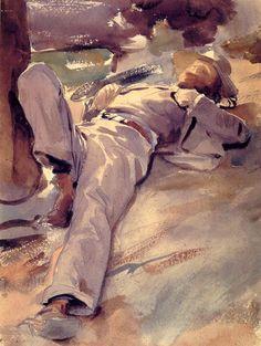 narcissusskisses: Pater Harrison (1905), de John Singer Sargent