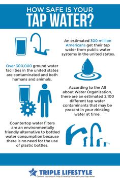 How sure are you that TAP WATER is safe? Check this out to gain more knowledge about it.