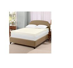 Serta Ultimate 4inch Visco Memory Foam Mattress Topper  Queen *** Details can be found by clicking on the image.