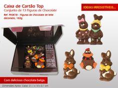 Figuras de Chocolate :) #prendas #presentes