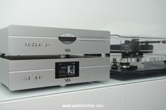 YBA Heritage CD100 cd player and MP100 media streamer