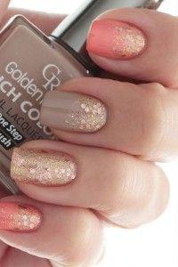 Gorgeous summer-fall nails