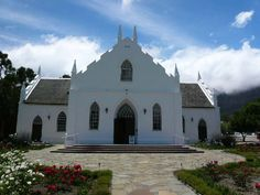 NG Kerk Franschhoek Old Country Churches, Victoria Falls, Mosques, Cape Town, South Africa, Birth, Buildings, Spaces, Mansions