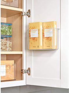 iDesign AFFIXX Plastic Rack - Gadgets Info Shelves In Bedroom, Bathroom Shelves, Kitchen Shelves, Bathroom Medicine Cabinet, Bedroom Gadgets, Office Shelf, Cupboard Doors, Off The Wall, Organizing Your Home