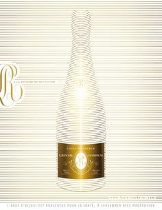 Image result for new louis roederer cristal champagne magazine advert
