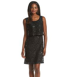 2ad891634196 Ronni Nicole® Sequin Lace Popover Sheath Dress | Herberger's Sheath Dress