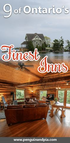 We share 9 of Ontario's Finest Inns - most of them have Spas and they all offer great outdoor activities. Perfect for your next Canada getaway. Vacation Trips, Vacation Spots, Day Trips, Couples Vacation, Summer Vacations, Vacation Ideas, The Perfect Getaway, Romantic Getaway, Ontario Getaways
