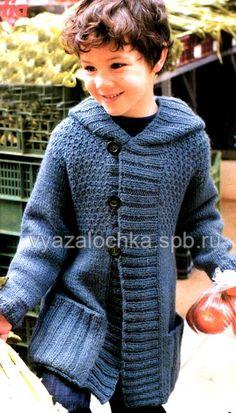 Вы можете связать своему ребенку детское пальто спицами и утеплить его синтепоном, если хотите, чтобы он носил пальто в холодное время года.…