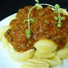 Very Special Spaghetti Sauce  Bolognese Sauce Recipe Very Special Spaghetti Sauce Spicy Spaghetti, Homemade Spaghetti Sauce, Homemade Sauce, Bolognese Sauce, Spaghetti Bolognese, Creamy Lemon Chicken, Pasta Sauce Recipes, Vegetable Puree, How To Dry Oregano