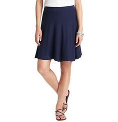Swingy Elastic Waist Skirt