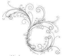 Fancy Filigree royalty-free fancy filigree stock vector art & more images of art Filigree Tattoo, Swirly Tattoo, Wörter Tattoos, Tatoos, Arte Quilling, Tattoo Feminina, Affinity Designer, Filigree Design, Swirl Design