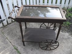 Authentic Antique Victorian 1900's tea Cart by TheEnchantedAttic, $450.00