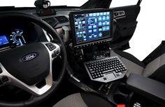 2012 Ford Explorer Interior Mobile Workspace