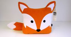 Fuchs-Kissen Love Sewing, Sewing For Kids, Baby Sewing, Sewing Toys, Sewing Crafts, Sewing Projects, Fox Crafts, Baby Crafts, Fox Stuffed Animal
